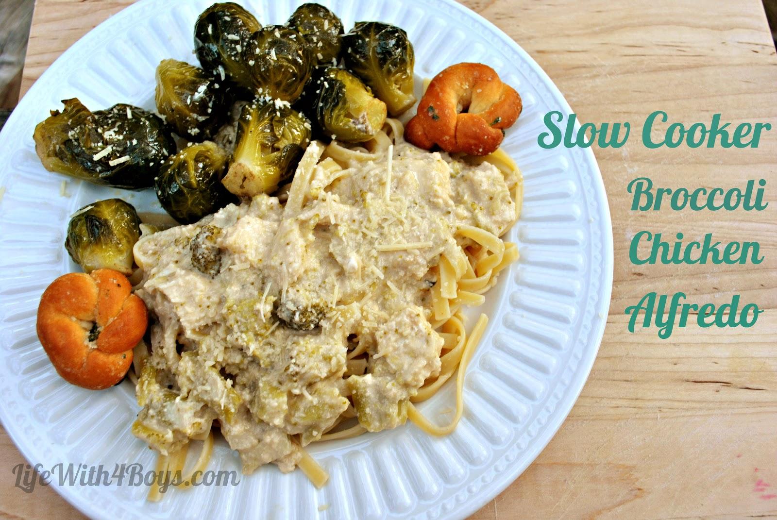 ... slow cooker broccoli chicken alfredo slow cooker chicken alfredo