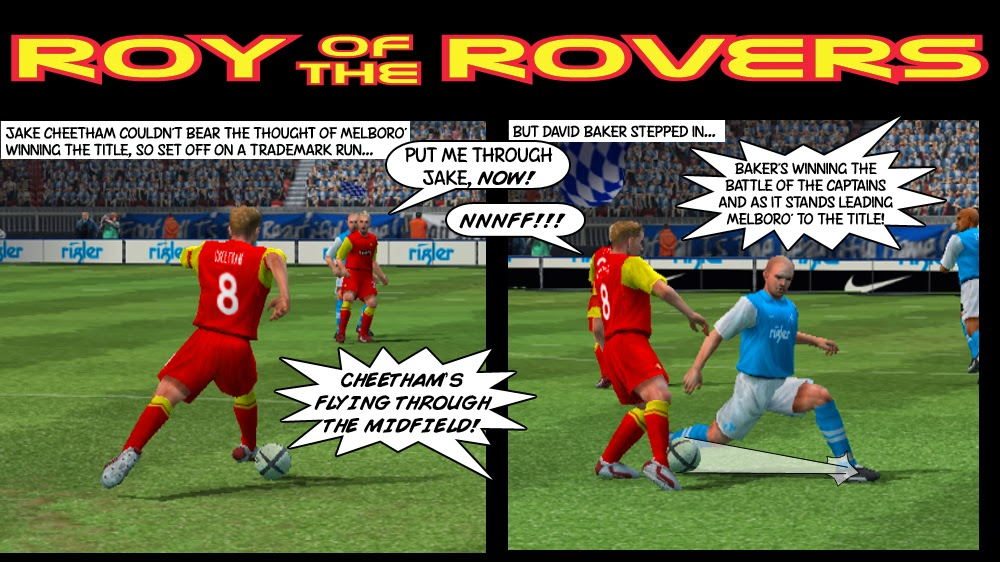 Melboro' vs Melchester Rovers 2013/14