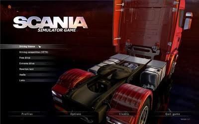 scania truck driving simulator serial key free download