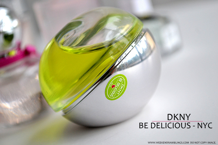 Perfumes for Women Must Have Best Top 5 Fruity Floral Fragrances Blog Picks Reviews For Spring Summer DKNY Be Delicious Green Apple NYC EDP Eau de Parfum Spray