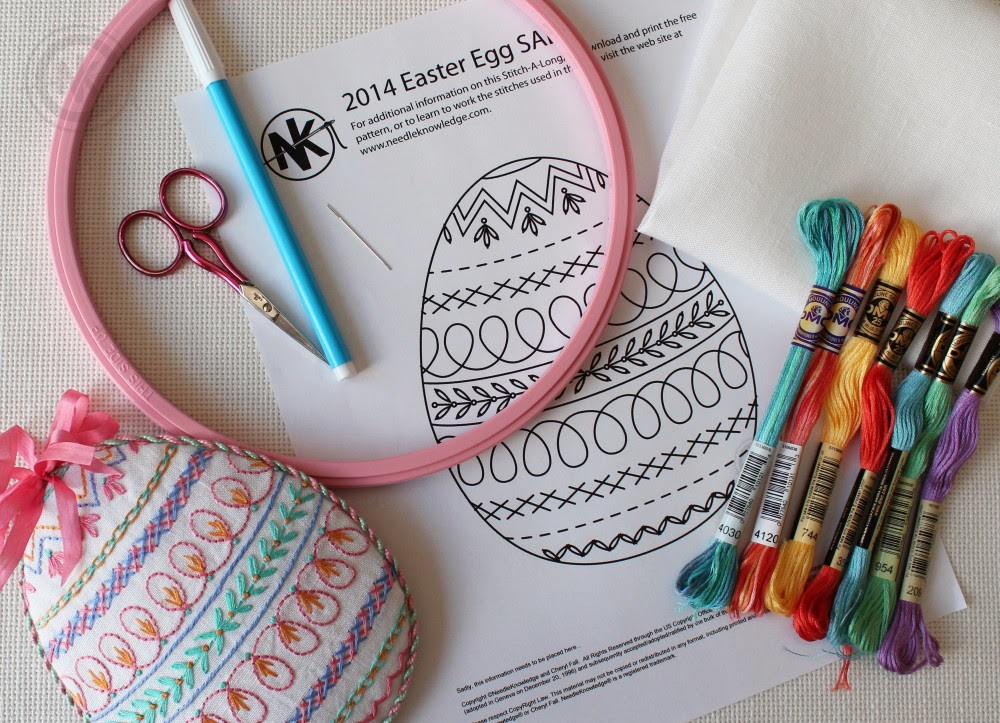 http://needleknowledge.com/traditional-embroidery-free-embroidery-patterns/2014-easter-egg-sal-free-embroidery-pattern/