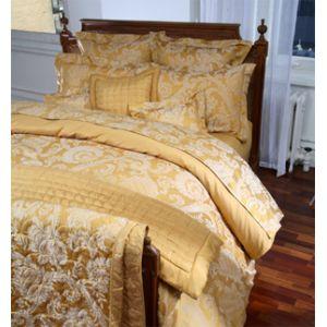 art d co decoration lit yves delorme. Black Bedroom Furniture Sets. Home Design Ideas