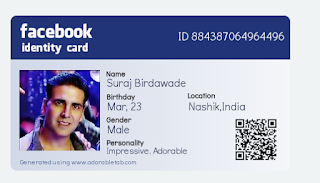 How To Make Facebook Identity Card Online