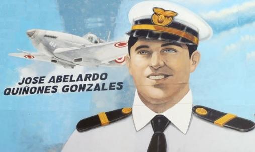 Dibujo de José Abelardo Quiñones Gonzales