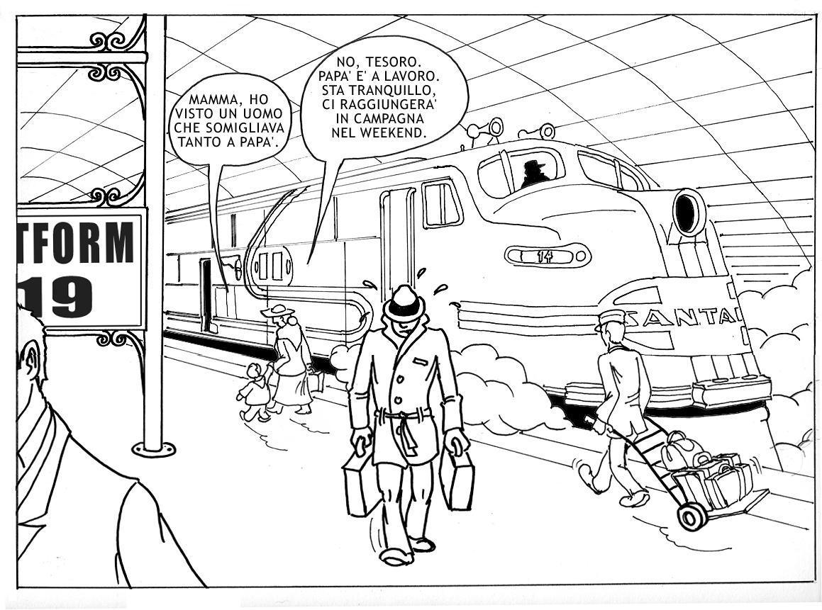 Santa Fe Train Coloring Pages Sketch Coloring Page