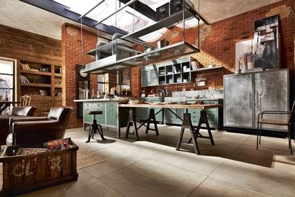 Industrial style kitchens | my little sweet house