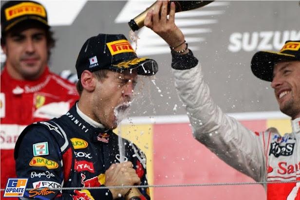 GP de Japón 2011: Vettel campeón a falta de cuatro carreras