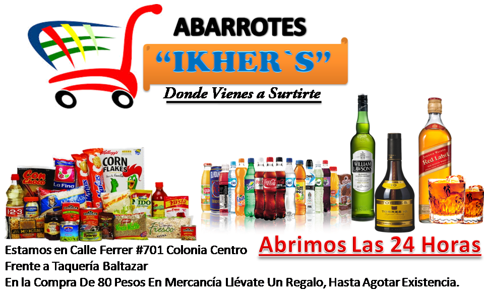 """ABARROTES """"IKHER`S"""""""
