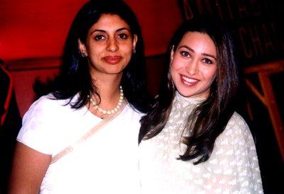 Shweta Bachchan n Karishma Kapoor