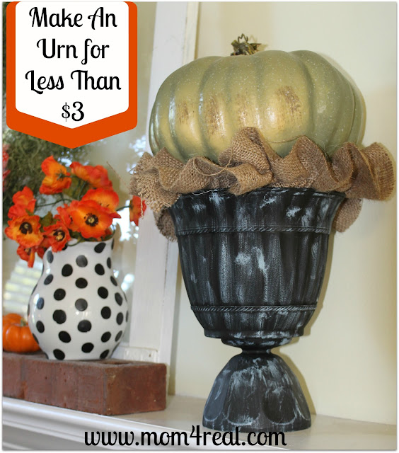 Make Your Own Urn for Less than $3 at Mom 4 Real