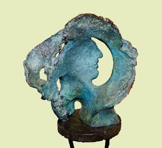 Escultura de Patricia Larrea.