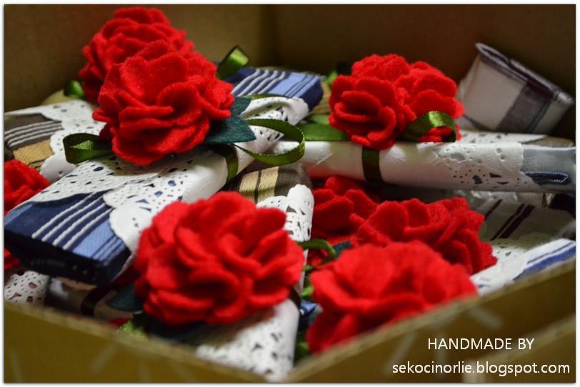 Flower Wedding Favor