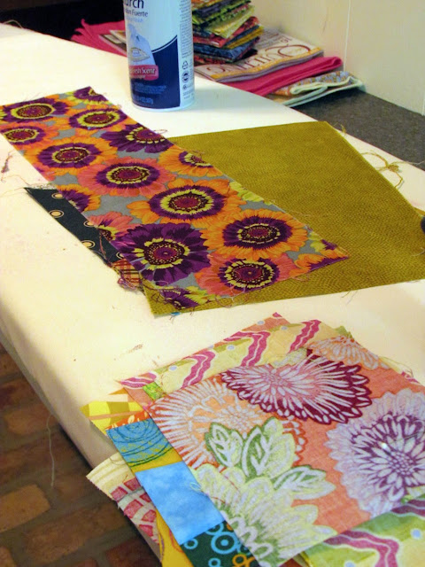 making yardage from scraps