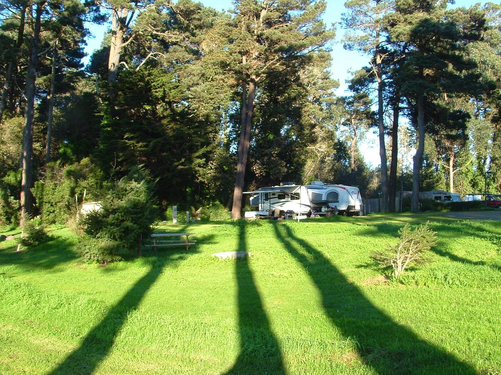 Hidden Pines Rv Park Campground Fort Bragg California Mendocino Botanical Gardens Fort Bragg
