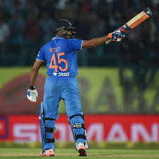 rohit sharma scores a century in t20