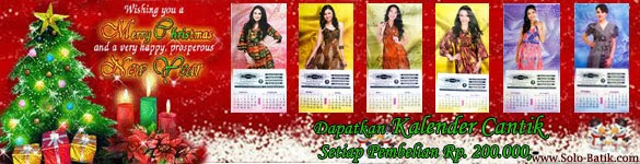 Promo Kalender Solo-Batik, Event Natal 2013
