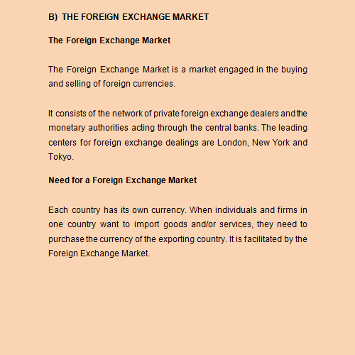 balance of payment and exchange rate in egypt economics essay The balance of payment like all balance sheets must balance the items and official monetary reserves to determine the direction of the exchange rate current account balance + capital account balance + financial account balance + reserve balance = bop (x balance of payment essay.