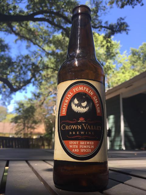 Imperial Pumpkin Smash, Crown Valley Brewing