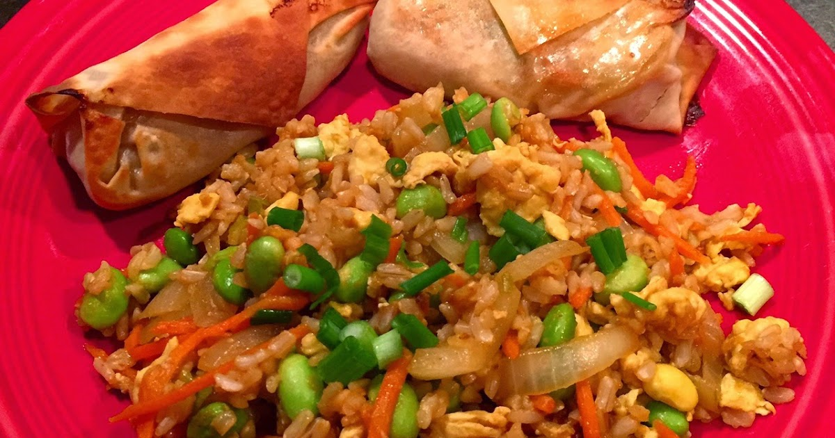 Tasty and (Mostly) Healthy Recipes: Asian Edamame Fried Rice