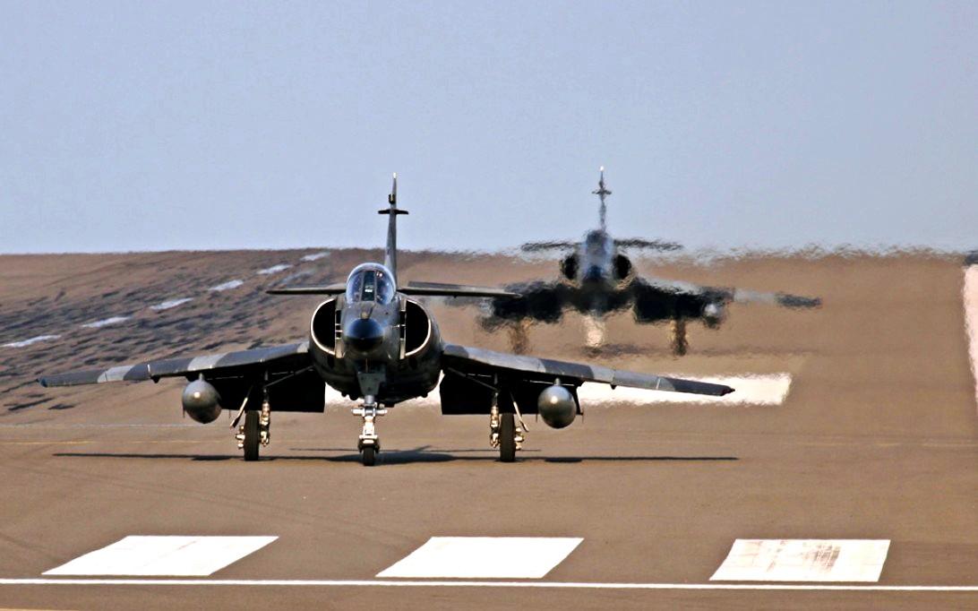 Super Étendard jet fighter wallpaper 4
