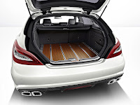 Mercedes-Benz CLS 63 AMG Shooting Brake: The performance trendsetter trunk