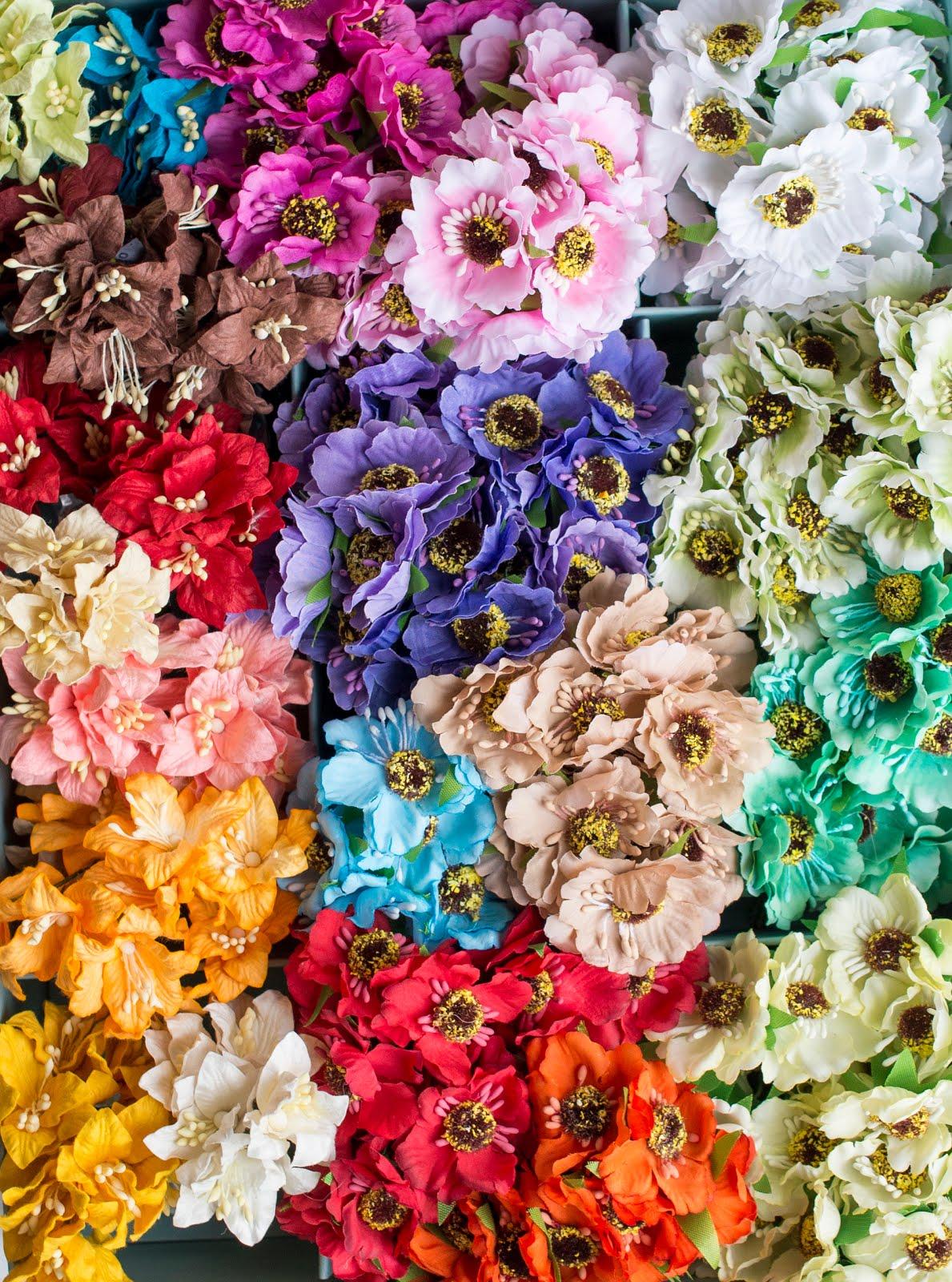 Silk flowers