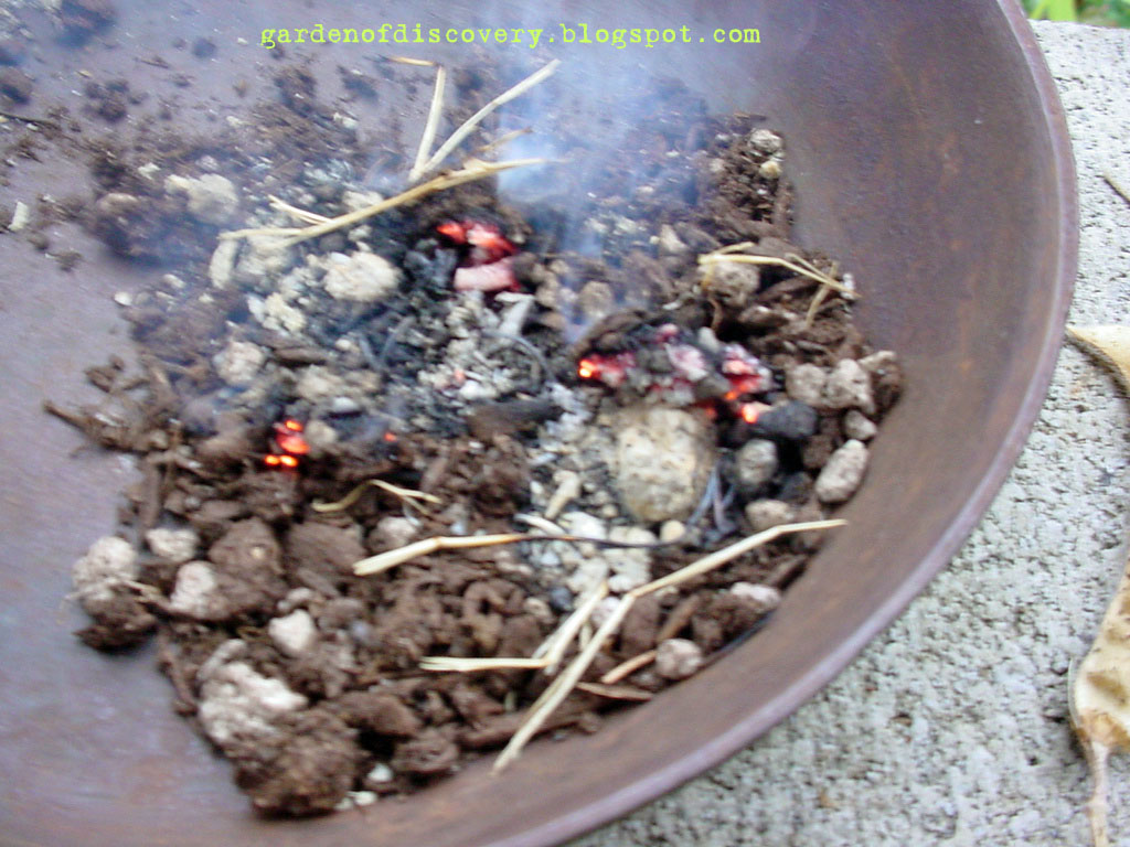 Garden of discovery fire in the hole potting soil for Garden soil or potting soil