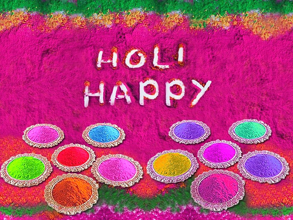 Happy Holi Wallpapers 2014