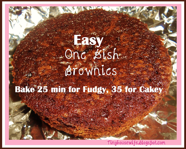 Easy One Dish Brownies!