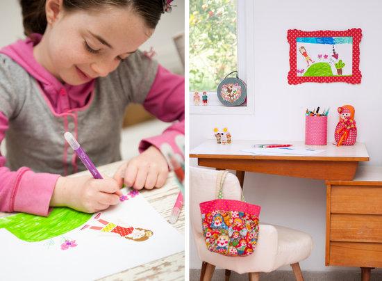 מסגרת ציורי ילדים