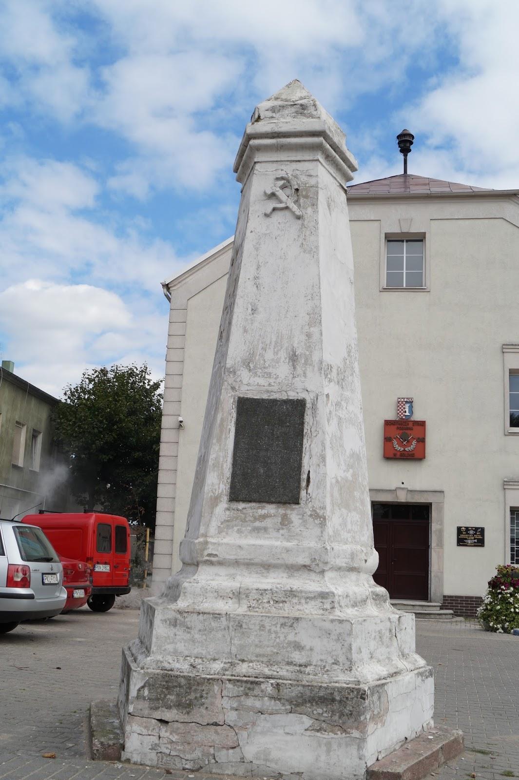 Pomnik Wdzięczności Armii Czerwonej w Golinie