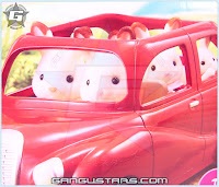 Sylvanian Families シルバニアファミリー Calico Critters Cherry Cruiser car family toys Epoch Tomy