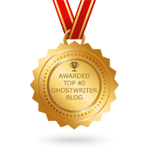 Award for Top 40 Ghostwriter Blog