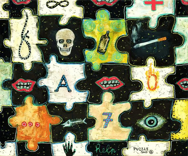 puzzle     19x15 cm