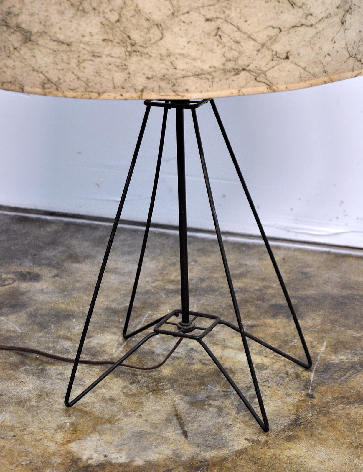 Select Modern Mid Century Wire Table Lamp Wiring A Floor