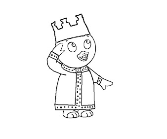 #2 Pablo Coloring Page