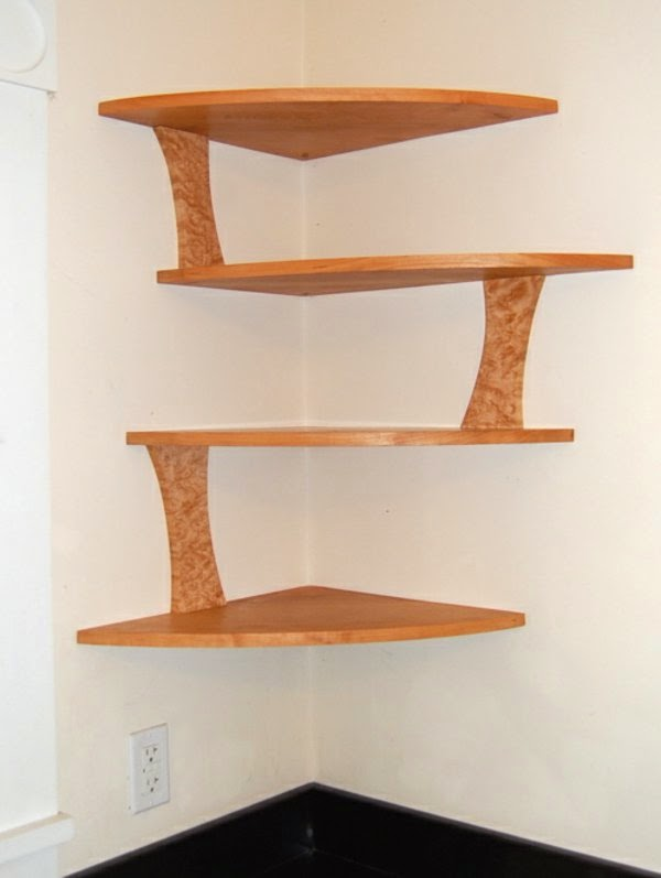 Great suggestions for corner shelving units 20 ideas - Etagere murale angle ikea ...
