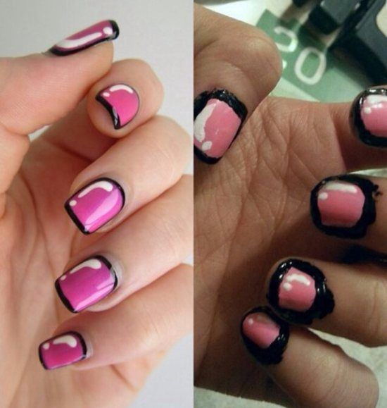 10 of the worst nail art fails ever nail artists aimed so high 9 i tried this once this is basically how it turned out sciox Gallery