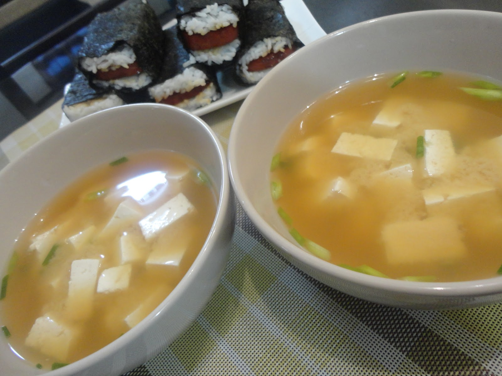 THE DENTIST IS IN THE KITCHEN MISO soup