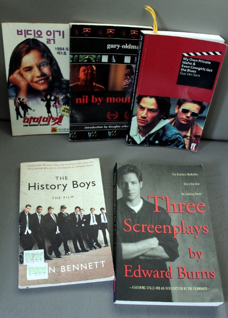 screenplay books