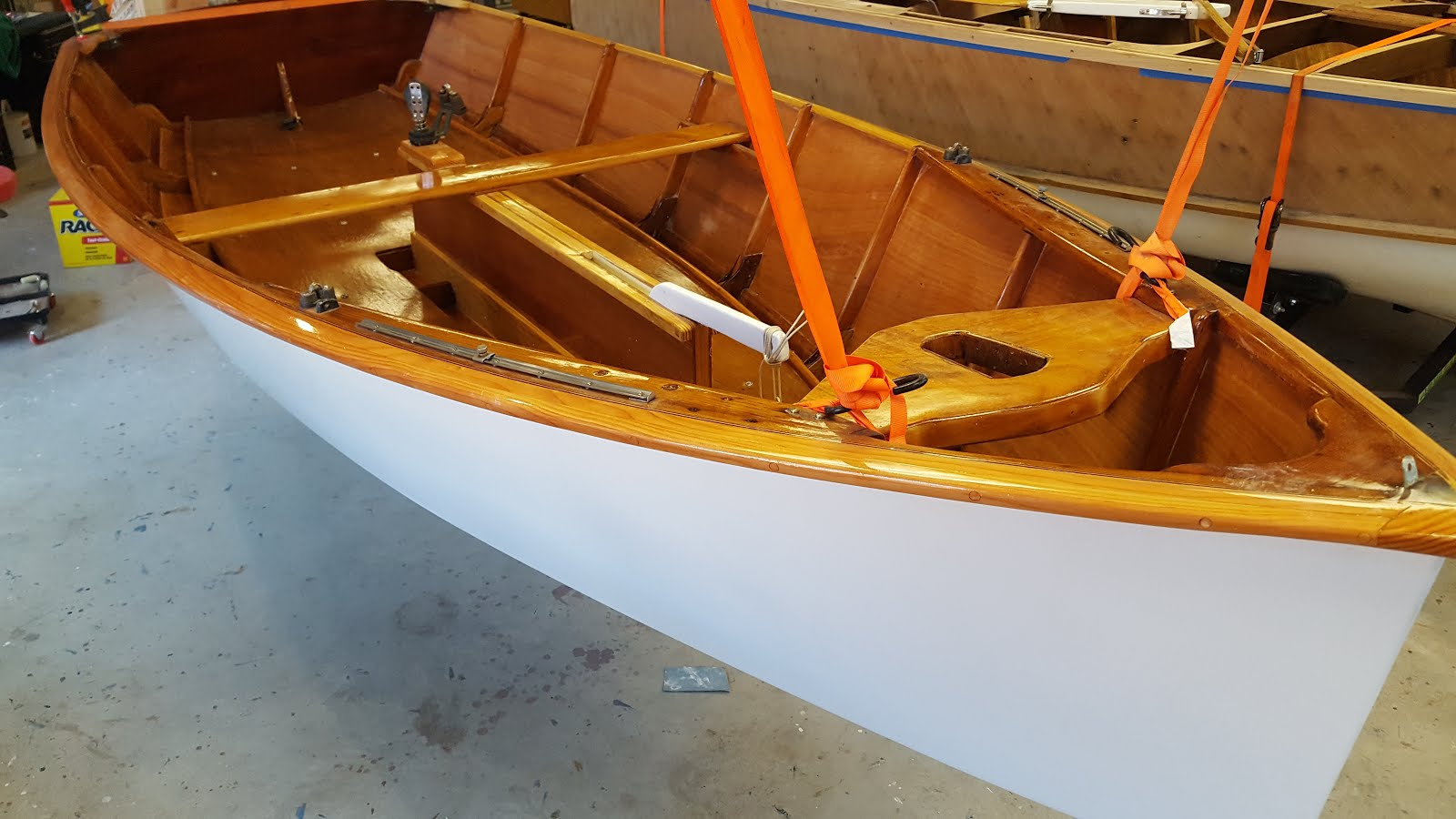 After - 1960 Penguin Sailboat