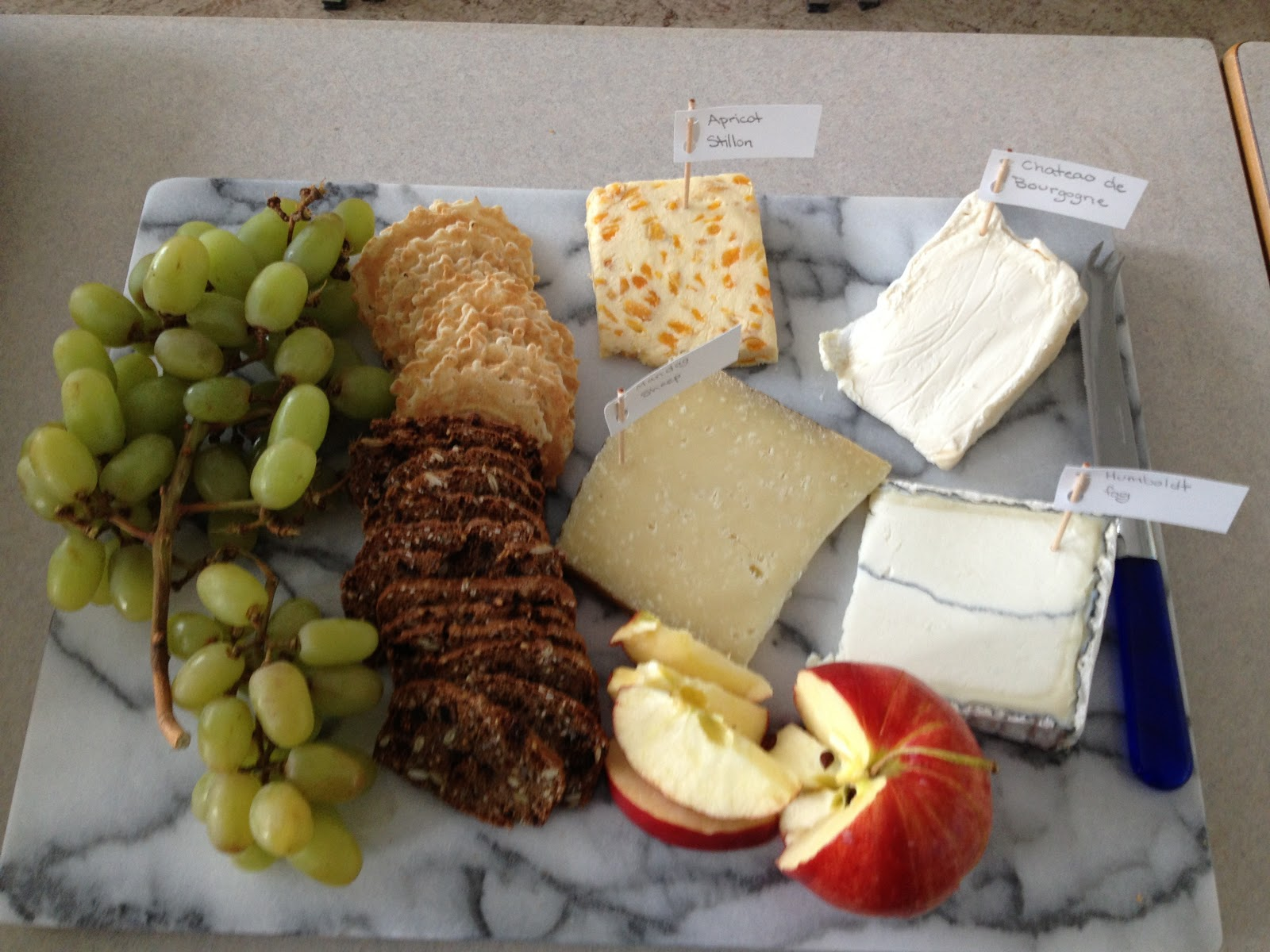 My cheese platter presentation. & Zobou0027s Musings