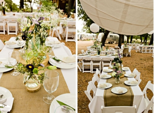 Manteles centrales o corremesas para bodas decoraci n for Tela para manteles de mesa