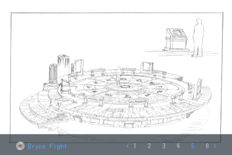 Namco concept Drawing Sketch