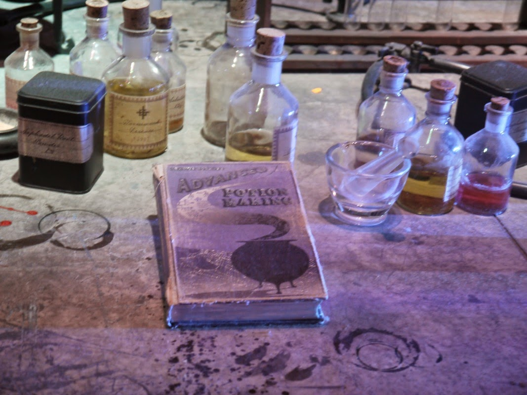Harry Potter Studio Tour Potions classroom