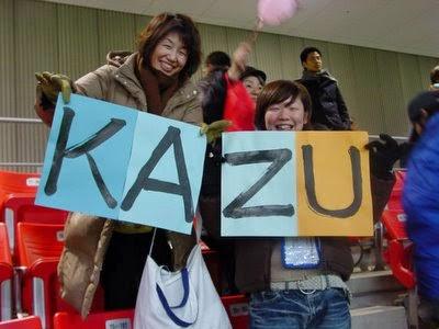 Kazu Arrives Down Under.