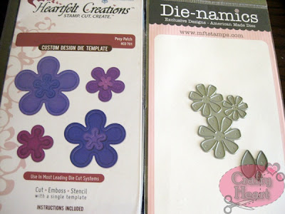 Heartfelt Creations and MFT Die-namics die sets