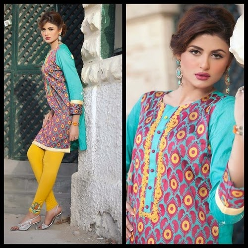 Envogue Fashion by Hamida Lawn 2014
