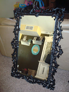 Scrolly mirror **SOLD**