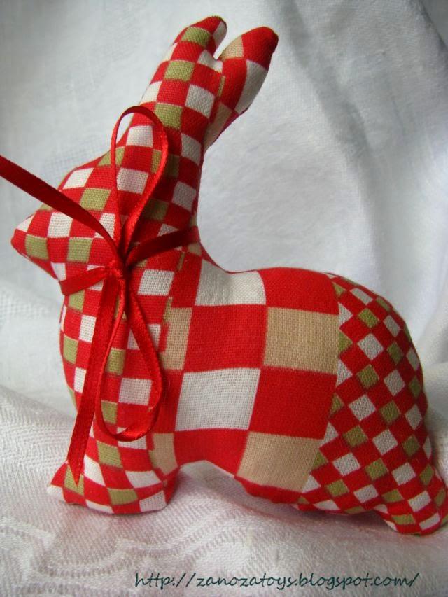 Как сшить в стиле тильда зайца